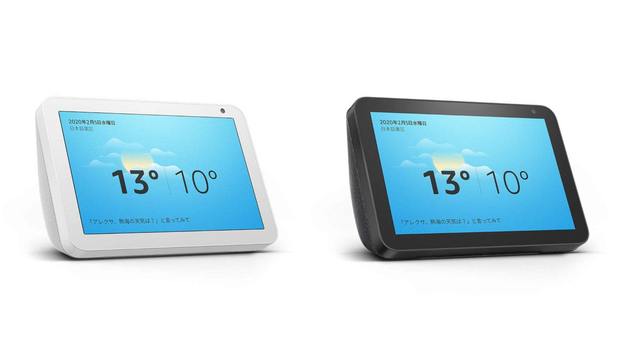 『Echo Show』に8インチモデルが新登場、Alexa搭載スクリーン付きスマートスピーカー