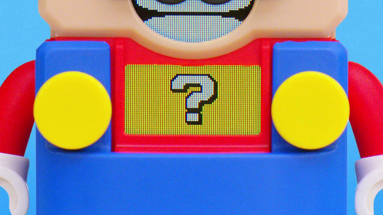 LEGOスーパーマリオ登場「楽しみに待っててね!」