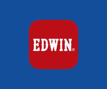 EDWIN公式サイトで買い物をするとデニム素材のマスクがもらえる(数量限定)