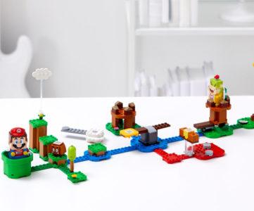 『レゴ スーパーマリオ』は8月1日に発売、自由にコースを作ってリアルに遊べる