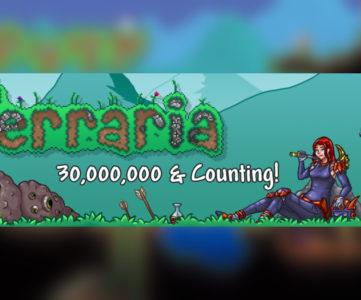 2Dサンドボックス『テラリア』の販売数が累計3,000万本に到達