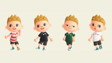 【あつ森】ラグビーワールドカップ出場の各国代表チームユニのマイデザインが公式から公開