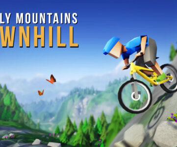 【比較】『Lonely Mountains: Downhill』Nintendo Switch版の特徴や他機種との違い