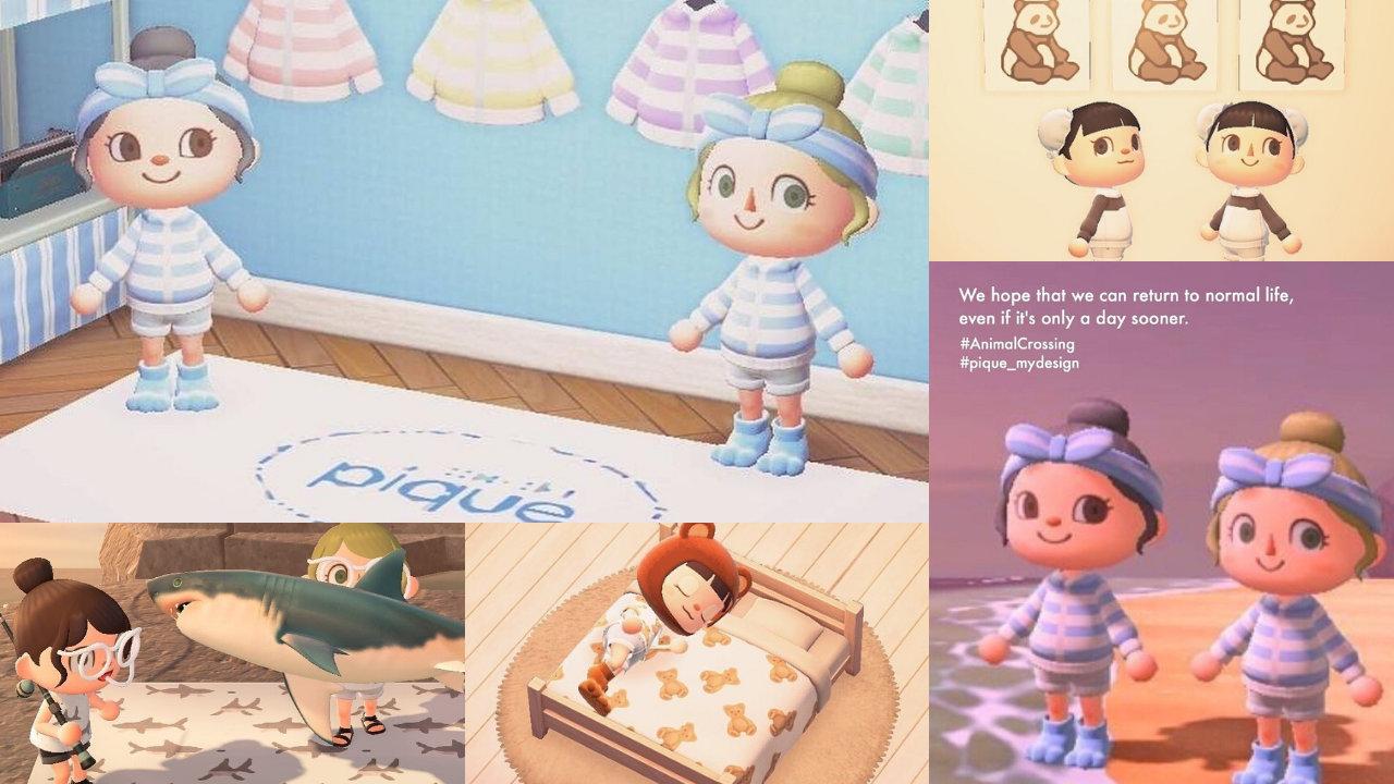 【あつ森】ジェラピケがマイデザインを公開・共有、人気のルームウェアをゲーム内でも