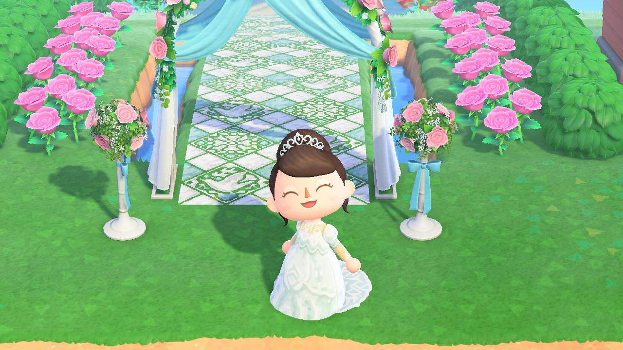 【あつ森】Yumi Katsuraのウエディングドレス・カラードレスのマイデザインが公開・共有