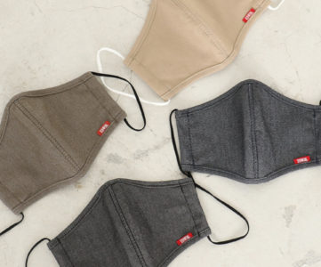 エドウィン、COOL素材を使用した接触冷感マスクを数量限定で販売。売上は全額寄付