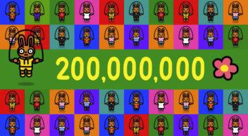 ジャンプロープチャレンジ 2億ジャンプ突破