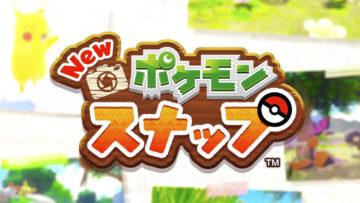 New ポケモンスナップ ロゴ