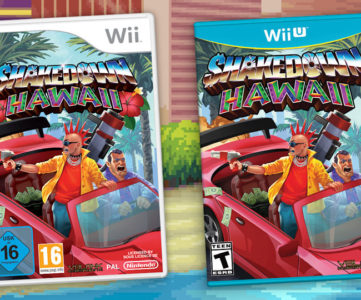 『Shakedown: Hawaii』が Wii / Wii U パッケージ版として今夏発売、旧ハードでレトロ体験