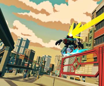 『JSR』風アクション『Bomb Rush Cyberfunk』が発表、サウンドには長沼英樹氏が起用