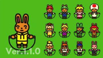 ジャンプロープ チャレンジ Ver.1.1.0 任天堂キャラクター衣装