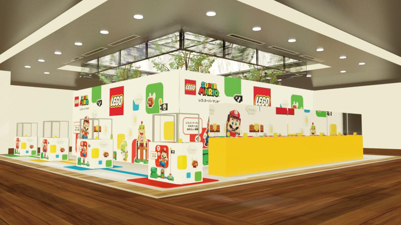 【レゴ スーパーマリオ】発売を記念したポップアップストアが期間限定オープン