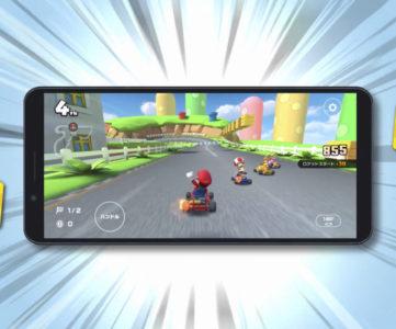 【マリオカート ツアー】レース中画面の横向き表示に対応