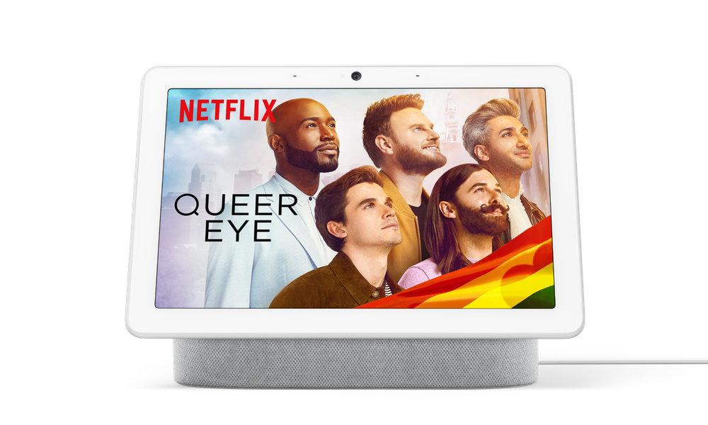Google、Nest Hub / Nest Hub Max が Netflix 再生に対応