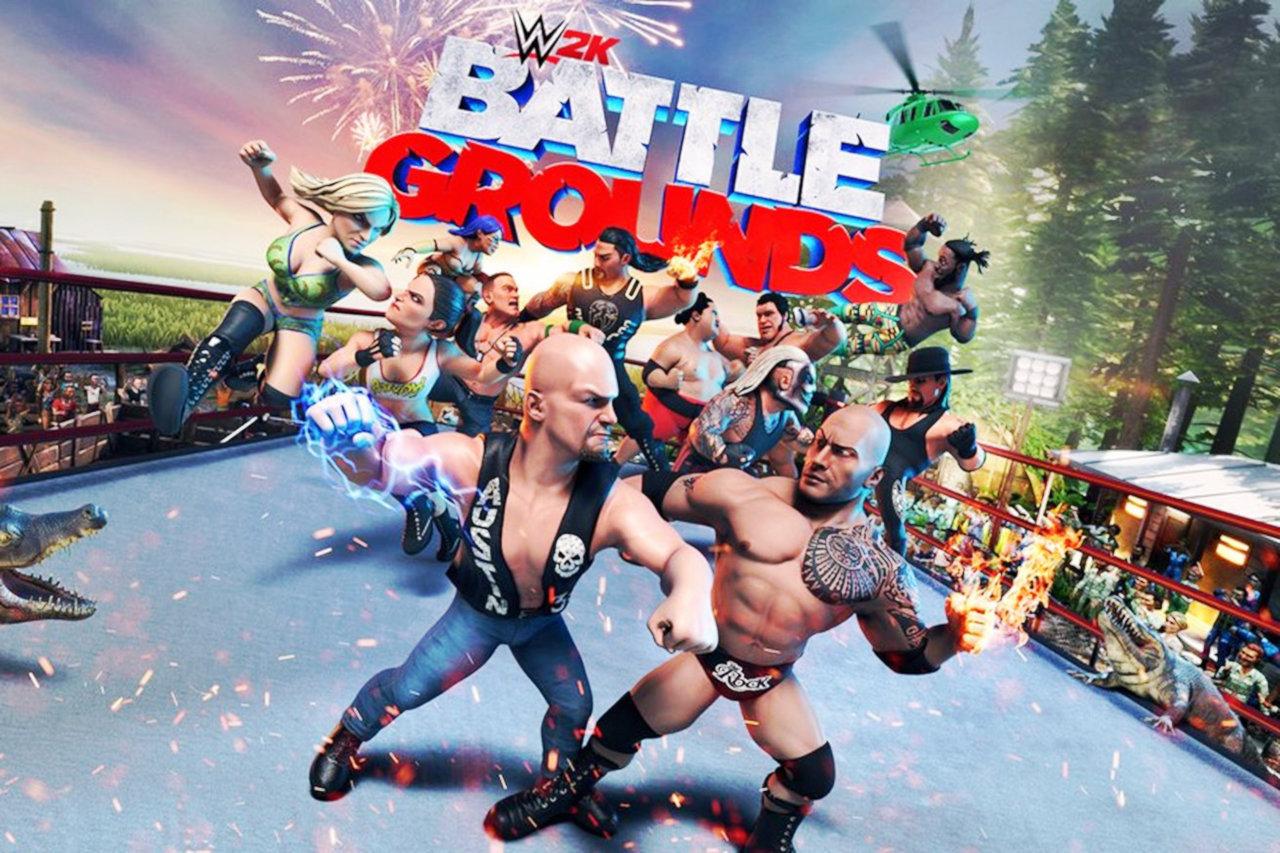 『WWE 2K バトルグラウンド』はスイッチを含むマルチで9月発売、WWEの新旧スーパースターが多数登場するアーケードスタイル格闘ゲーム