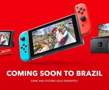 任天堂、ブラジルでスイッチを正式発売へ