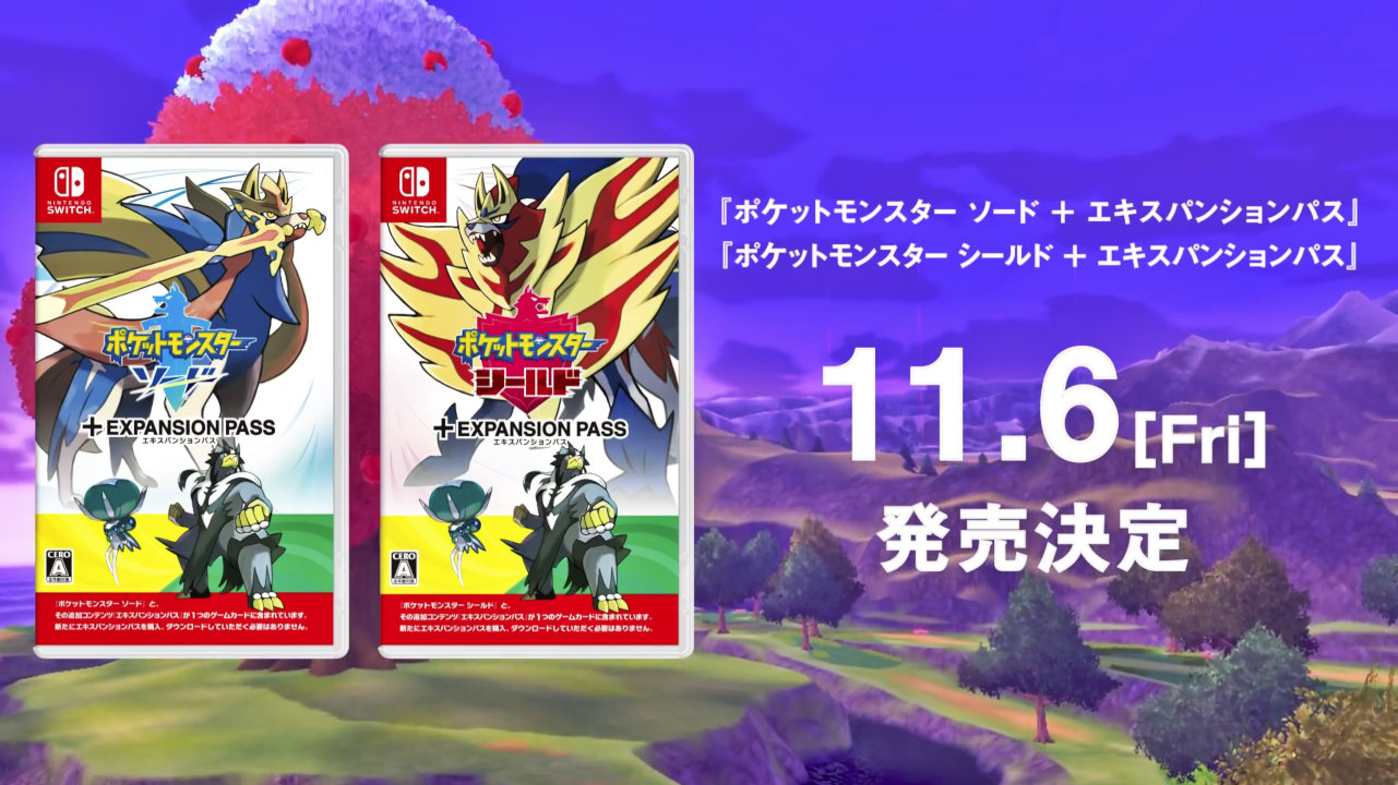 【ポケモン剣盾】『鎧の孤島』『冠の雪原』もまとめて遊べる『エキスパンションパス』同梱セットが11月に発売