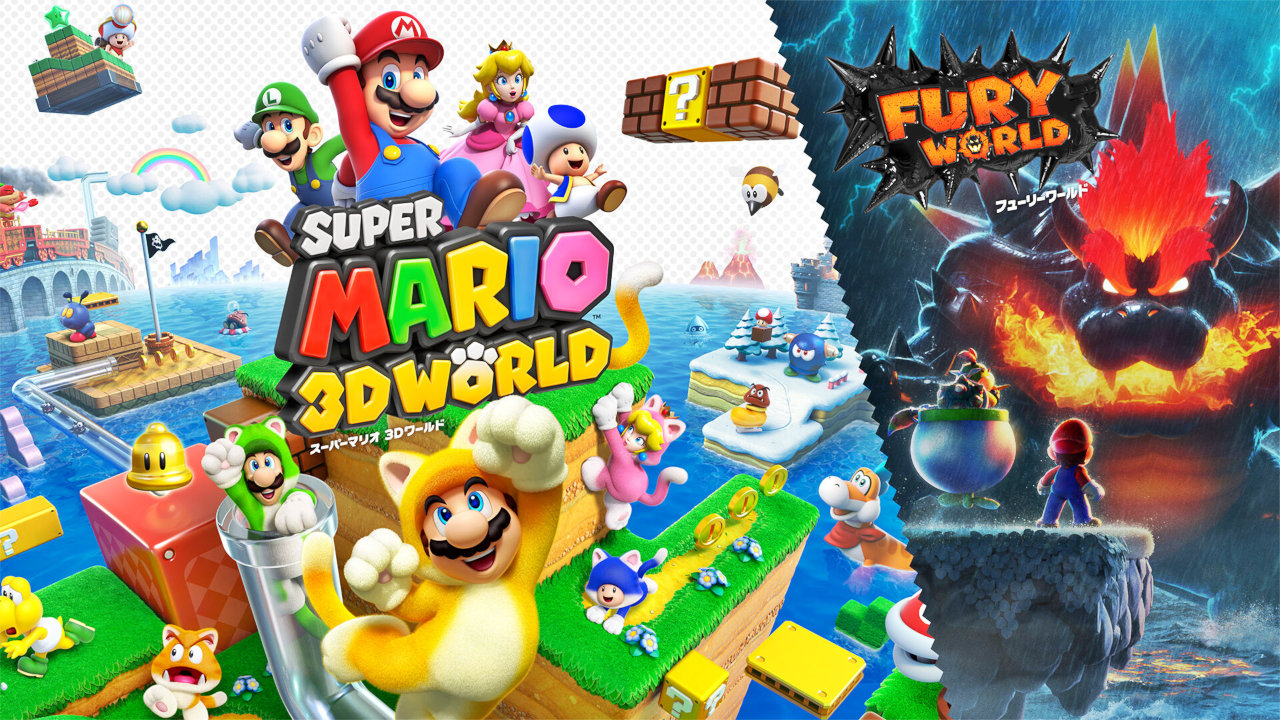 UK: 『スーパーマリオ 3Dワールド + フューリーワールド』はWii Uオリジナル版の3倍の初動でデビュー