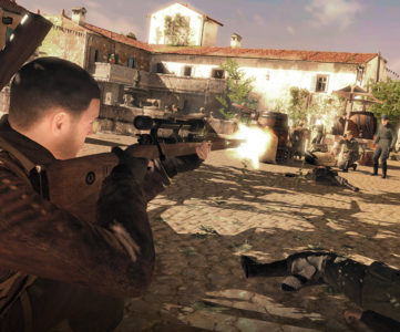 Switch版『Sniper Elite 4』は11月に海外発売