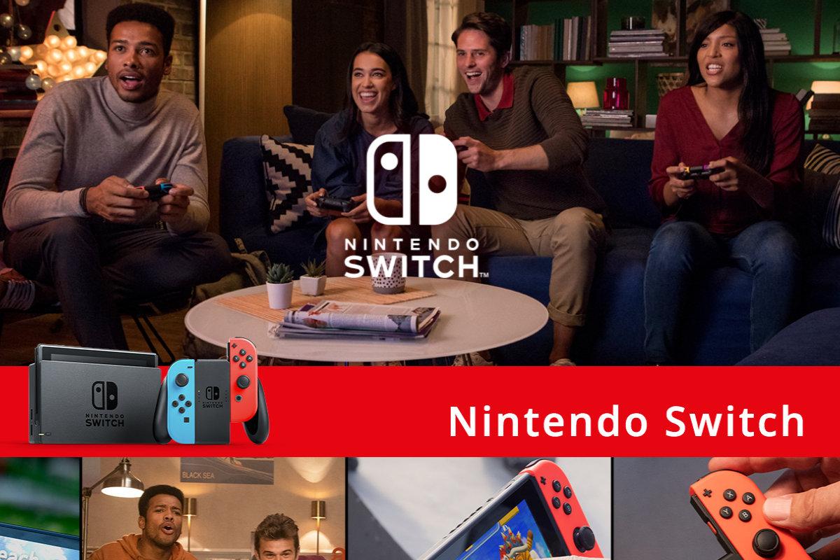 Nintendo Switchがスペインで市場シェア72%、ブラックフライデー週