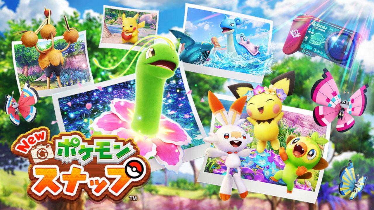 Switch『New ポケモンスナップ』ゲーム概要や発売日・登場するポケモンの数など