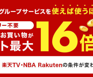 【楽天SPU】2021年2月から「NBA Rakuten」は対象外に