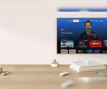 Apple TV+、Google TV搭載端末で視聴可能に。まずは「Chromecast」から