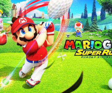 『マリオゴルフ』最新作がNintendo Switchに登場、モーション操作にも対応し直感的に楽しめる