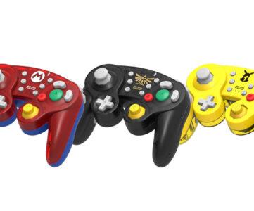 GCコンデザインのホリのクラコンがワイヤレスに、『ホリ ワイヤレスクラシックコントローラー for Nintendo Switch』21年4月発売