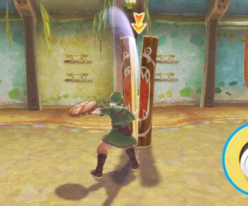 『ゼルダの伝説 スカイウォードソード HD』では新しい「ボタン操作」が導入