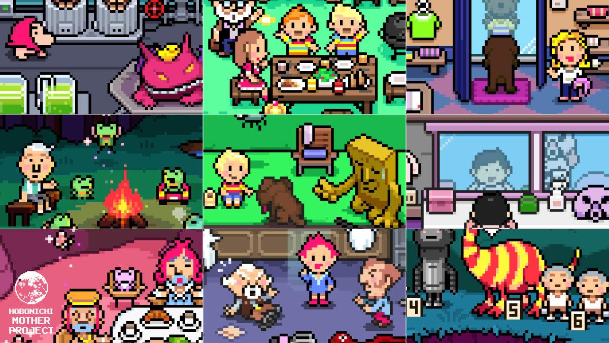 【MOTHER3】発売から15周年、ゲームシーンの舞台裏を描く特別なグラフィックが公開