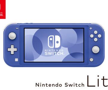 Nintendo Switch Liteに新色「ブルー」登場、『ミートピア』と同日発売