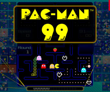 【Switchオンライン】パックマンで99人バトロワ、加入特典ソフトに『PAC-MAN 99』が追加