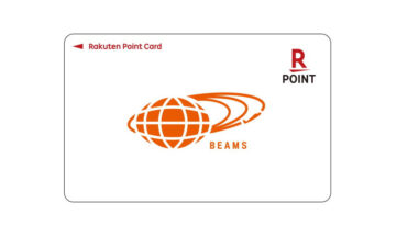 楽天ポイントカードが全国のBEAMSで利用可能に