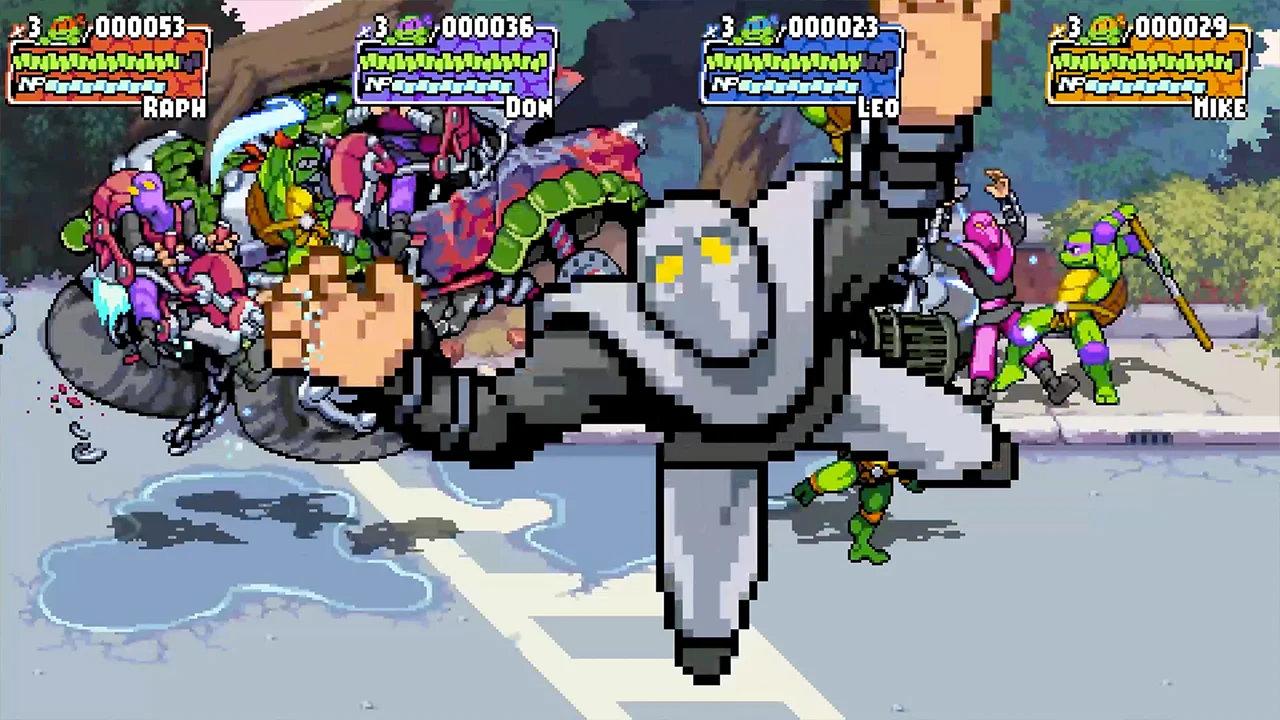 【TMNT】新作ベルトスクロールアクション『Shredder's Revenge』がNintendo Switchにも対応
