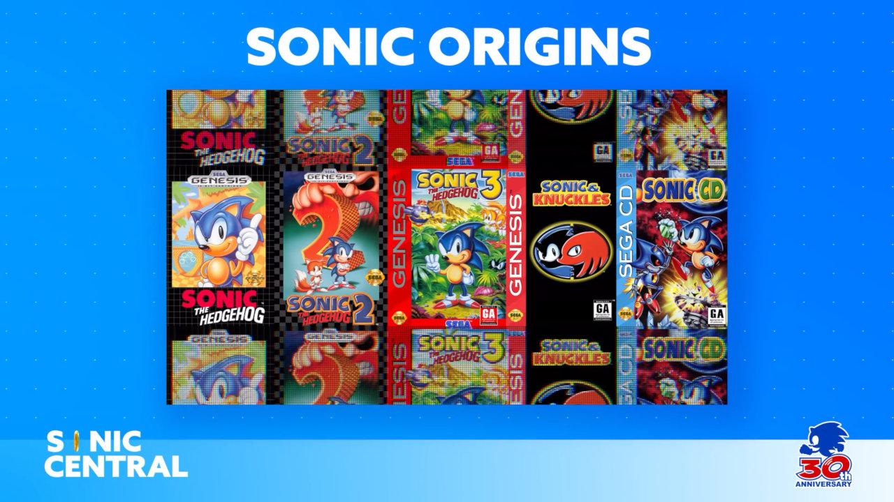 『Sonic Origins』が2022年発売予定、ソニックの原点を新モードを加えて収録