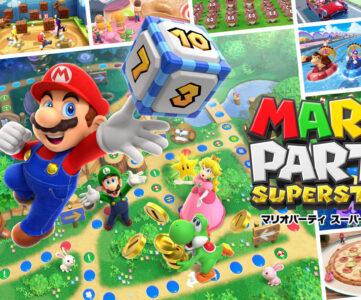 『マリオパーティ スーパースターズ』がスイッチに登場、収録内容や対応コントローラーについて