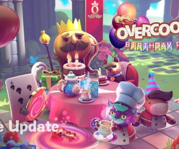 """『オーバークック 王国のフルコース』新要素を盛り込む""""Birthday Party""""アップデートが配信開始"""