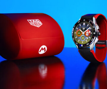 タグ・ホイヤー×スーパーマリオ、Wear OS搭載スマートウォッチが登場。世界2,000本限定発売