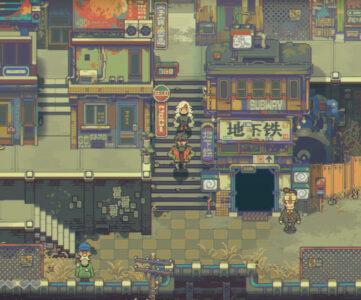 緻密なドット絵で表現された荒廃世界を冒険する『Eastward』はSwitch版含め9月16日発売