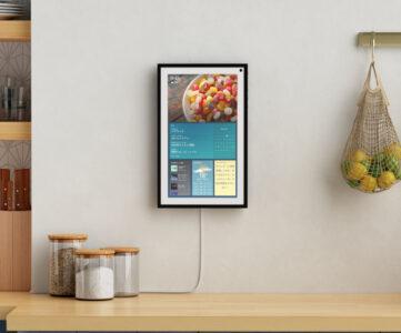 【Amazon】『Echo Show 15』登場、家族で使える15.6インチ大画面スマートディスプレイ