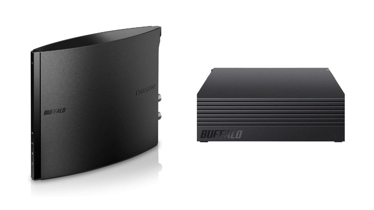 バッファロー、「nasne」と対象の外付HDDを同時購入で1,000円OFF