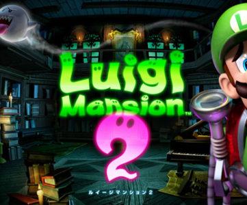 ホラーといえばあの方なナレーションの、3DS『ルイージマンション2』TVCM