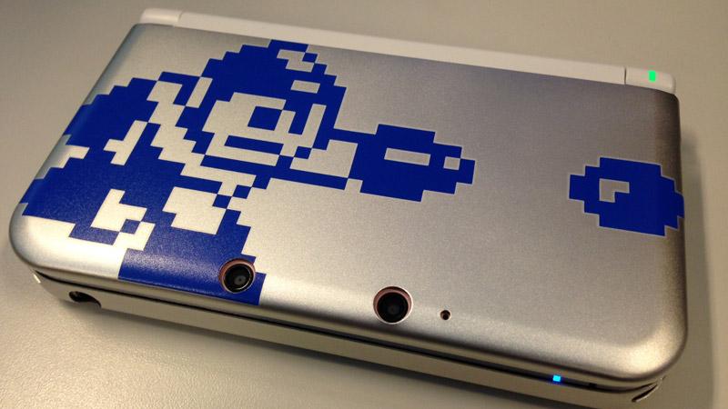 あなたのニンテンドー3DS/3DS LLをロックマン仕様にするカプコン公式ケース