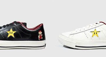 コンバース、今年も任天堂とコラボしたマリオデザインのスニーカーを発売