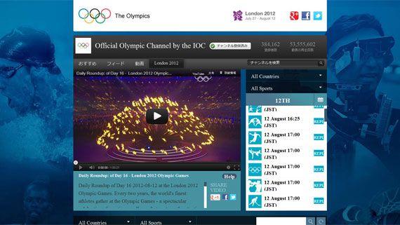 あの熱狂をもう一度。いつでも見たいときに楽しめる、ロンドンオリンピック全種目を視聴可能なYouTubeの公式アーカイブ