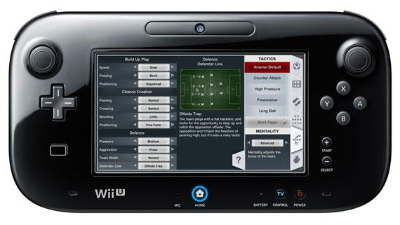 Wii U版『FIFA 13』は特徴的なGamePad操作があるものの、エンジン他は『FIFA 12.5』