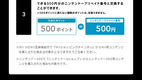 Wii UはWii互換機能「Wiiモード」利用時に『Wiiショッピングチャンネル』も起動できる?