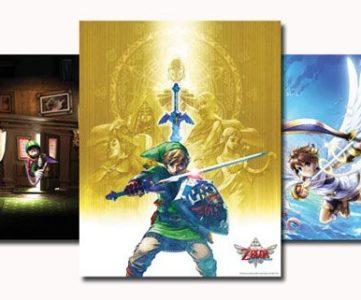 北米クラブニンテンドー、2012年プラチナ/ゴールド会員特典が発表。『ゼルダの伝説 スカイウォードソード』等3種のポスターセットと『マリオ』デザインのオリジナルトランプ