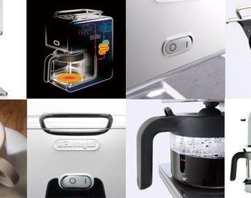 デザインが気に入った!DeLonghi (デロンギ) のドリップコーヒーメーカー「CMB6」を購入 → 5年で水漏れ故障